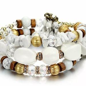 Jewelry - Stone Crystal Bracelet Bangle